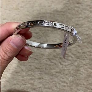 New Coach Bangle Bracelet